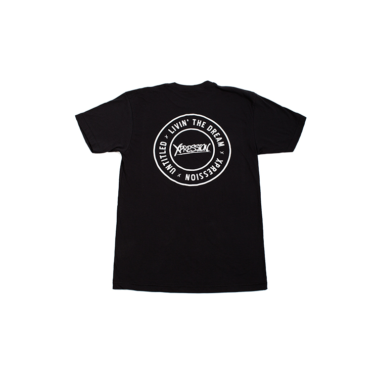 Xpression Black Tee