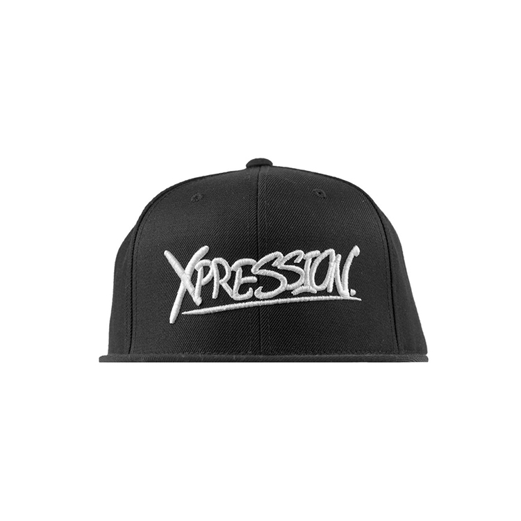 Xpression Snapback Black